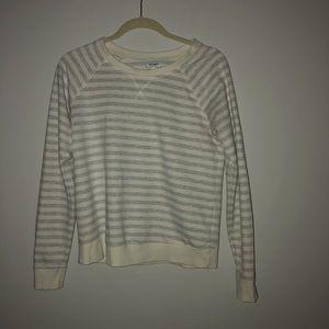 Old Navy striped crewneck sweatshirt
